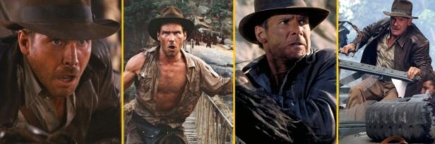 Indiana Jones 1-2-3-4
