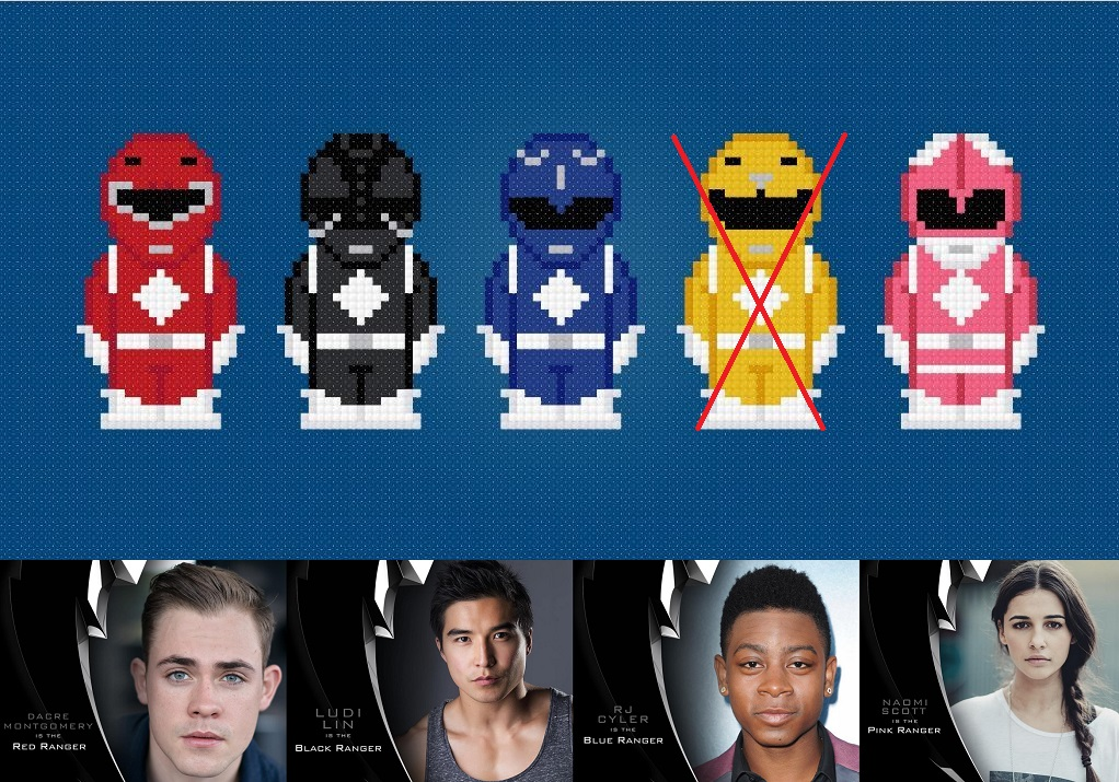 Power Ranger Pixel Casting