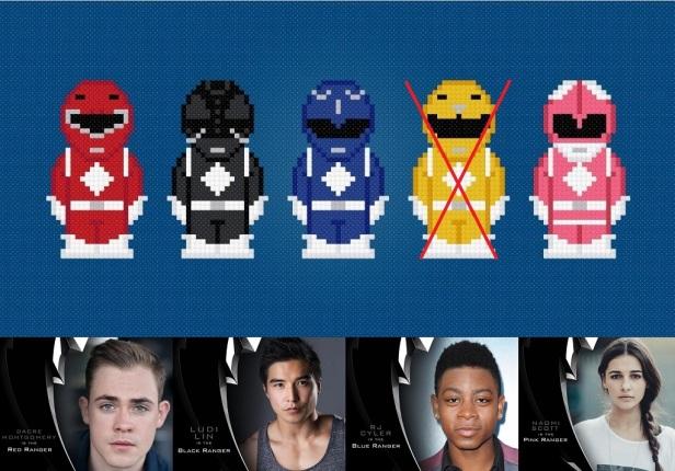 Power Ranger Pixel Casting