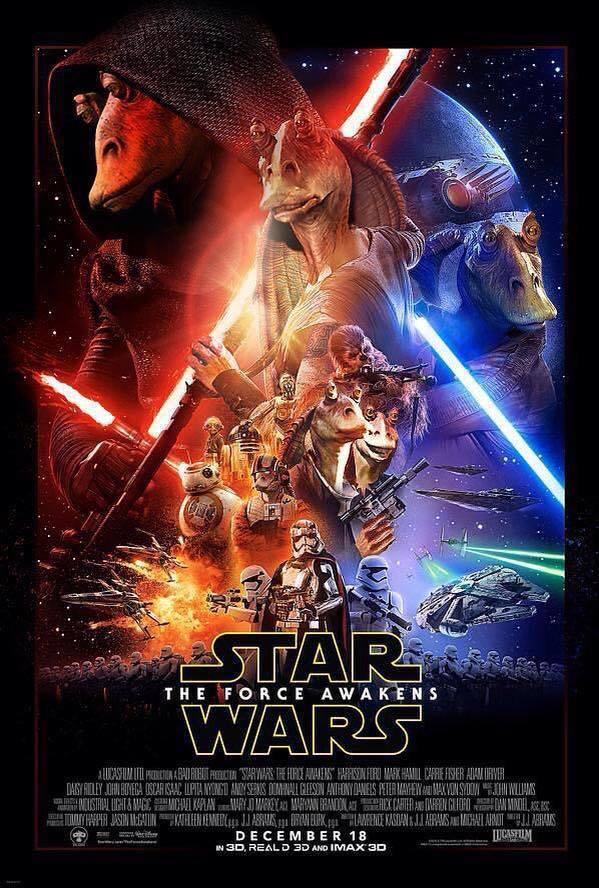 Star Wars 7 Aff Jar Jar