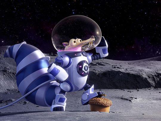 Age de Glace Scrat astronaute