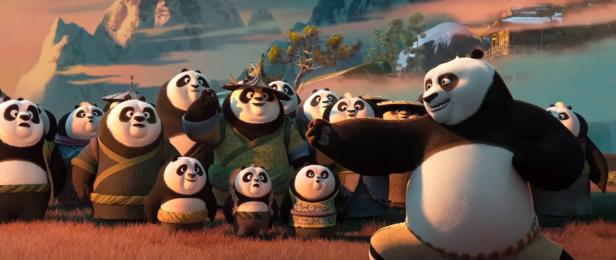 Kung Fu Panda 3 Po trailer