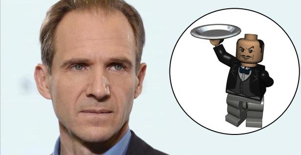 Ralph Fiennes Lego Batman