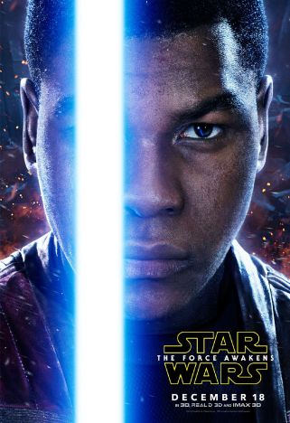 Star Wars 7 poster perso Finn