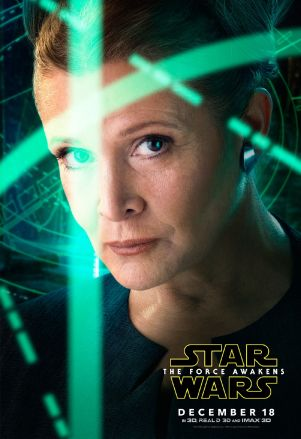 Star Wars 7 poster perso Leia
