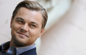 US actor Leonardo DiCaprio poses during