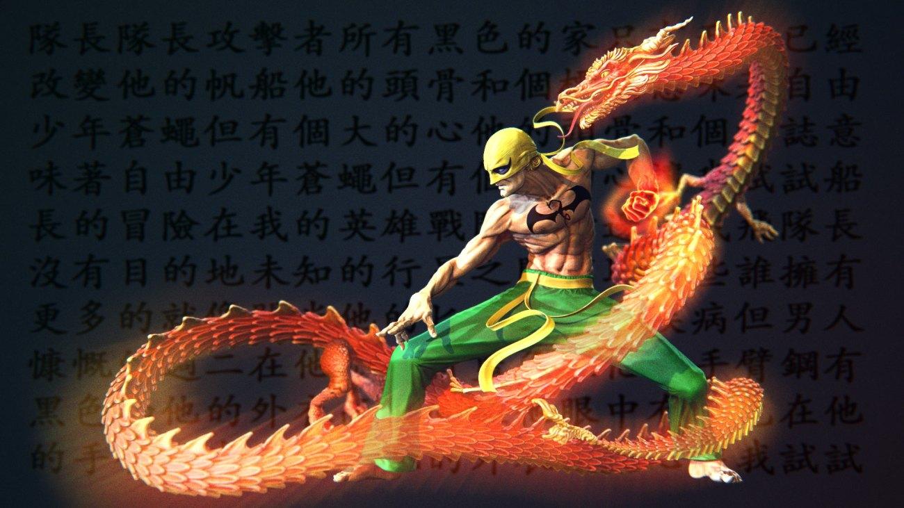 ironfist dragon