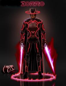Zorro futur Tron