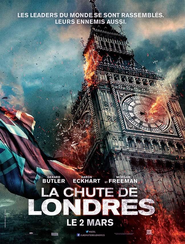 La Chute de Londres Aff FR