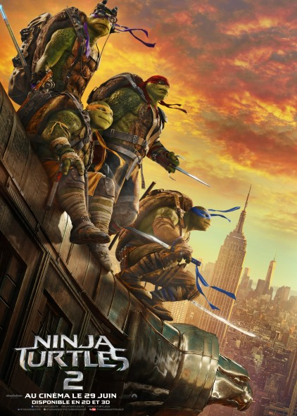 Ninja Turtles 2 Aff FR