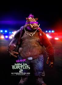 Ninja Turtles 2 Poster Bebop