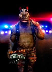 Ninja Turtles 2 poster Rocksteady