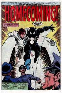 Spiderman homecoming comics 1984