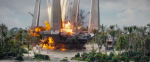 Star Wars Rogue One explosion