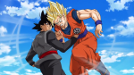 Black et Goku dans Dragon Ball Super #50