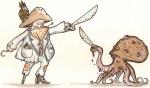 Pirates vs pieuvre