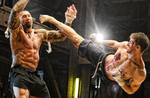 Kickboxer vengeance pied