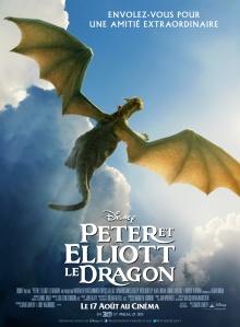 Peter et Elliott le dragon Aff FR
